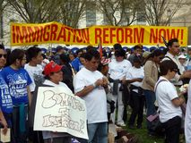Immigration Reform Stock Photo