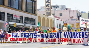 Immigration Reform Rally in the United States Stock Photos