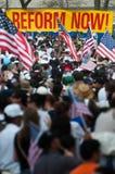 Immigration-Sammlung in Washington Lizenzfreies Stockfoto