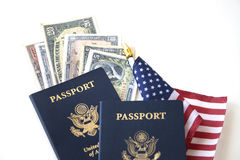 Immigration/Travel concept Stock Image