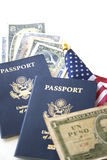 Immigration/Travel concept Stock Images