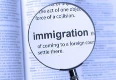 immigrazione Fotografia Stock Libera da Diritti