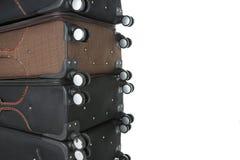 Immigrazione di viaggio delle valigie Immagine Stock Libera da Diritti