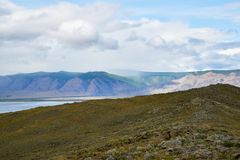 Imminent Beauty of Lake Baikal royalty free stock images
