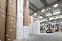Immobile industriale di stampa immagine stock libera da diritti