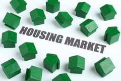 Immobiliënmarkt Royalty-vrije Stock Foto