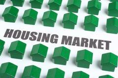 Immobiliënmarkt Stock Fotografie