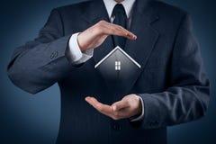 Immobiliarversicherung Stockfoto