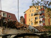 Immobilien in Albanien lizenzfreies stockbild