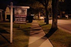 Immobilien der Staat Florida für Verkauf unterzeichnen herein Tampa stockfotos