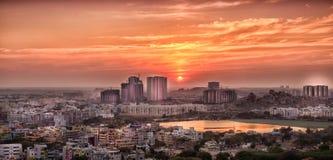 Immobilien Hyderabads stockfoto