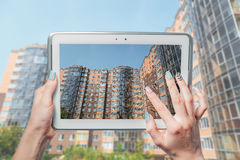 Immobilien, Luxuswohnung, Wohnung Lizenzfreie Stockbilder