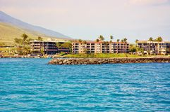 Immobilien von Maui-Insel Stockfotografie