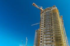 Immobilienbau stockbild