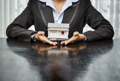 Immobilienkonzept Lizenzfreie Stockfotos