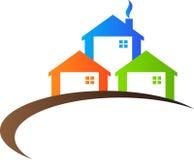 Immobilienlogo Stockfotos