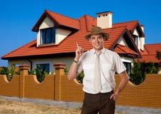 Immobilienmakler lizenzfreie stockbilder