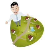 Immobilienmakler Stockfoto