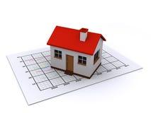 Immobilienmarkt Lizenzfreies Stockbild