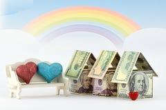 Immobilienmarkt, eine wohlhabende Zukunft Stockbilder