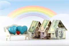 Immobilienmarkt, eine wohlhabende Zukunft Lizenzfreies Stockfoto