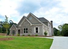 Immobiliers, Bogart, la Géorgie Photo stock