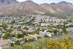 Immobiliers de la Californie image libre de droits