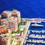 Immobiliers de luxe à Monte Carlo Photo libre de droits