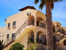 Immobiliers Espagne de maison espagnole traditionnelle de style Image stock