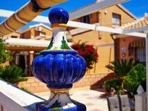 Immobiliers Espagne de maison espagnole traditionnelle de style Photo libre de droits