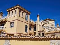 Immobiliers Espagne de maison espagnole traditionnelle de style Photographie stock