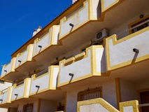 Immobiliers Espagne de maison espagnole traditionnelle de style Images stock