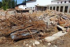 Immondizia della costruzione Immagine Stock Libera da Diritti