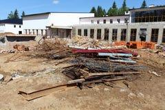 Immondizia della costruzione Fotografie Stock Libere da Diritti