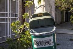 Immondizia di plastica Fotografie Stock