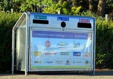 Immondizia di Toronto e scomparto di riciclaggio Fotografie Stock Libere da Diritti