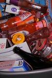 Immondizia riciclata Fotografie Stock Libere da Diritti