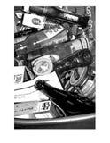 Immondizia riciclata Fotografia Stock Libera da Diritti