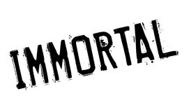 Immortal rubber stamp. Grunge design with dust scratches. Effects can be easily removed for a clean, crisp look. Color is easily changed Stock Photography