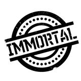 Immortal rubber stamp Stock Photography