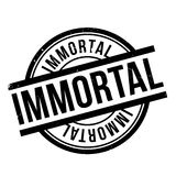 Immortal rubber stamp. Grunge design with dust scratches. Effects can be easily removed for a clean, crisp look. Color is easily changed Royalty Free Stock Images
