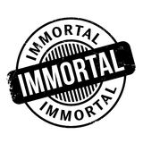 Immortal rubber stamp. Grunge design with dust scratches. Effects can be easily removed for a clean, crisp look. Color is easily changed Royalty Free Stock Photos