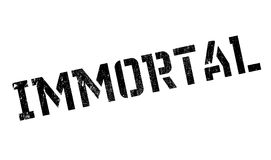 Immortal rubber stamp. Grunge design with dust scratches. Effects can be easily removed for a clean, crisp look. Color is easily changed Royalty Free Stock Photography