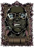 Immortal. Vector illustration ideal for printing on apparel clothing Royalty Free Stock Image