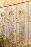 Immortals relief detail Persepolis Stock Image