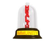 Immunitätsschutz des Gesundheitskonzeptes Stockfoto