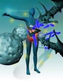 Immunitet mot sjukdomar Arkivfoton