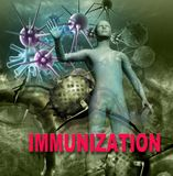 Immunity Against Diseases Stock Image