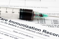 Immunization concept Stock Photos