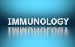 Immunologia di parola royalty illustrazione gratis